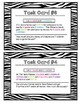 8th Grade Common Core Math [Task Cards] Systems of Equations: Elimination WP