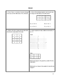 8th Grade Common Core Math Warm Ups