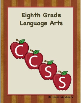 8th Grade Common Core Planning Template and Organizer for Language Arts (Word)