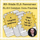 8th Grade Common Core Practice - RL.8.3 - 3-5 mini-lessons