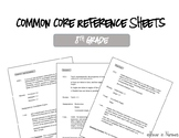 8th Grade Common Core Reference Sheets