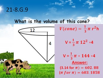 8th Grade Common Core Math Review Game