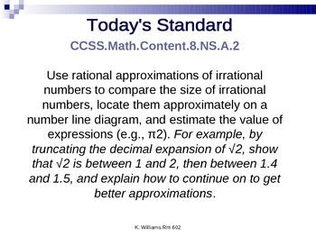 8th Grade Common Core Standards
