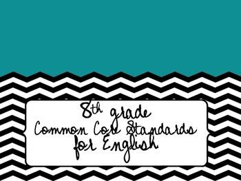 8th Grade Common Core State Standards