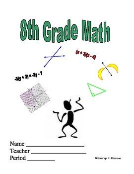 8th Grade Common Core Workbook