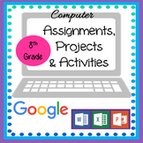 Google Lessons - Microsoft Office Computer Lessons for 8th Grade