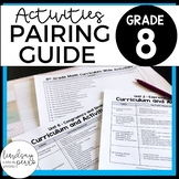 8th Grade Curriculum and Activities Pairing Guide