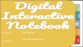 8th Grade Digital Notebook (Units 11-16)