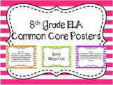 8th Grade ELA Common Core Posters