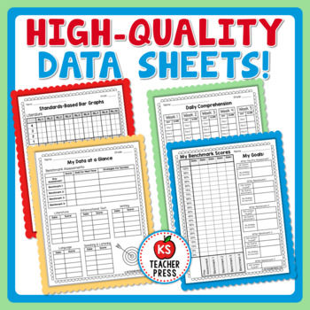 8th Grade ELA, Common Core Standards-Based Student Data Notebook (Printable)