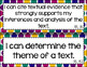 8th Grade ELA I Can Statements for CCSS Standards (Jewel Tone Polka Dots)