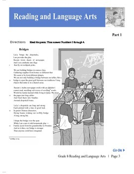 8th Grade ELA TCAP Book