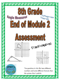 8th Grade End of Module 2 Assessment - Editable