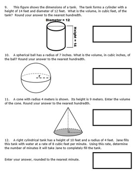 8th Grade End of Module 5 Assessment - SBAC - Editable