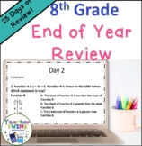 8th Grade End of Year Review
