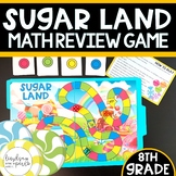 8th Grade End of Year Review Game