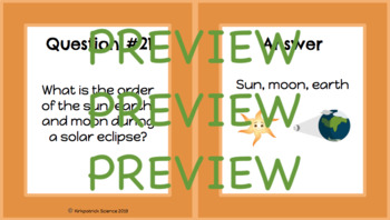 8th Grade FCAT/ FSSA Review Cards