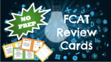 8th Grade Science FCAT/ FSSA NO PREP Review Cards