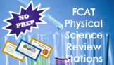 8th Grade FCAT Physical Science NO PREP Stations Review