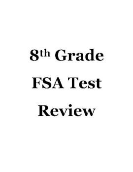 8th Grade FSA Math Tests Prep
