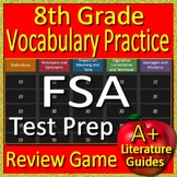 8th Grade FSA Test Prep Reading Vocabulary Practice Review Game