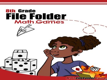 8th Grade File Folder Math Games