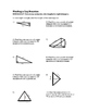 8th Grade Finding a Leg Lesson: FOLDABLE & Homework