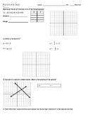 8th Grade Functions Quiz (Editable)
