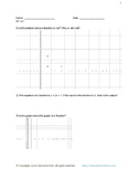 8th Grade Functions Worksheet Sample Pack