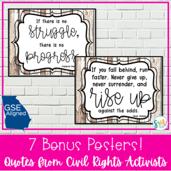 8th Grade GA Studies Standards Posters