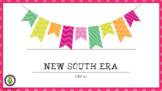 8th Grade GSE New South Era SS8H7
