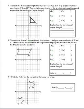 8th Grade Geometry: 9 Week Comprehensive Unit on Geometry Standards Bundle