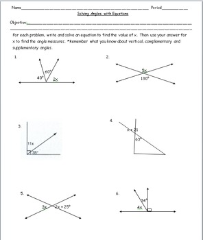 8th Grade Geometry: Geometric Figures and Angles