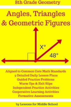 8th Grade Geometry: Geometric Figures and Angles