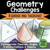 8th Grade Geometry Hands-On Activity