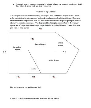 8th Grade Geometry Summative Assessment - Common Core Aligned