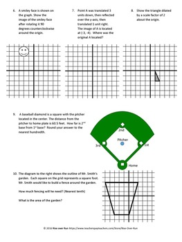 8th Grade Geometry Test