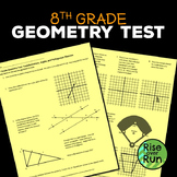 8th Grade Geometry Test