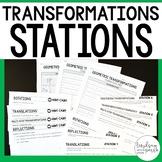 Geometric Transformations : Middle School Math Stations