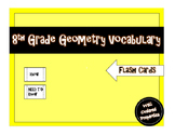 8th Grade Geometry Vocabulary Assignment