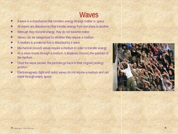 8th Grade Georgia Performance Standards Science Unit 4 Waves