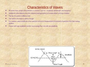 8th Grade Georgia Performance Standards Science Unit 4 Waves