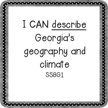 8th Grade Georgia Studies I CAN Statements