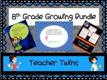 8th Grade Growing Bundle