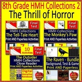 8th Grade HMH Collections 2 - The Thrill of Horror Literature Bundle - HRW