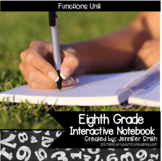 Eighth Grade Math Functions Interactive Notebook Unit