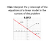 """8th Grade MATH CCSS """"I Can"""" Statements {Editable PowerPoint Included}"""