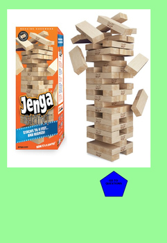 8th Grade MATH PARCC PowerPoint Jenga review game