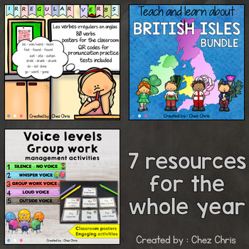 8th Grade Activities - a Whole Year of Engaging Activities MEGA BUNDLE