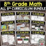 8th Grade Math Curriculum (Entire Year)